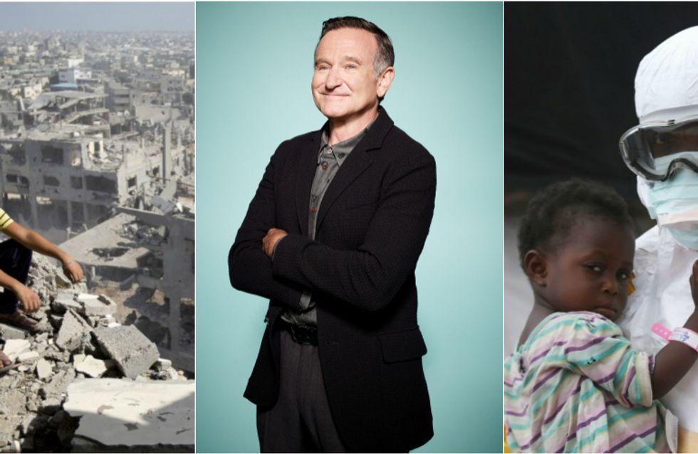 MH370, selfie da record, l'addio a Robin Williams e lo scandalo Bill Cosby: i momenti più chiacchierati del 2014