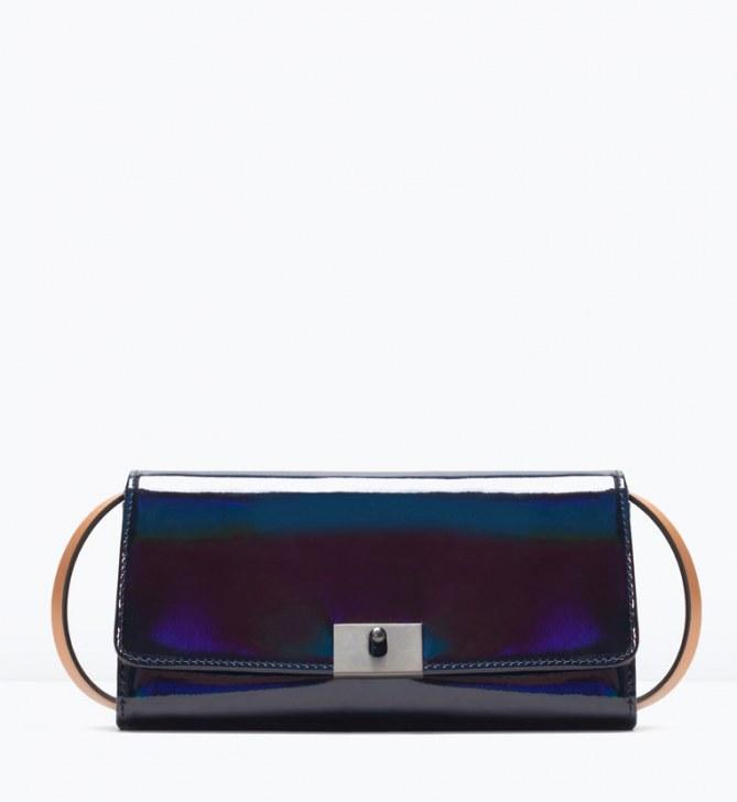 Pochette miroir Zara (39.95 euros)