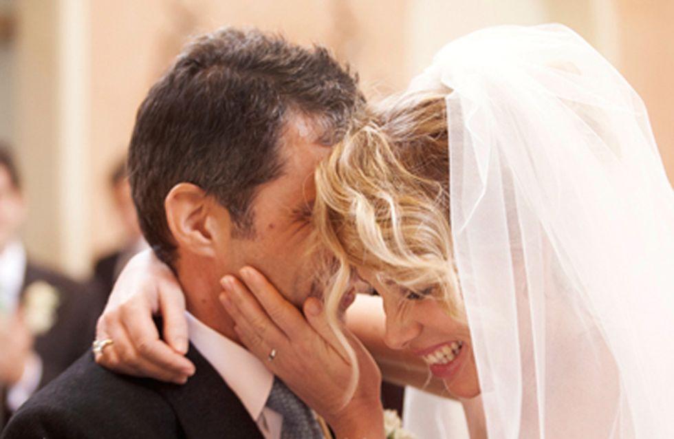L'album di nozze di Alessia Marcuzzi! Ecco le romantiche immagini del suo giorno più bello
