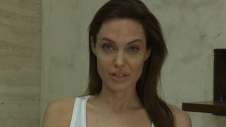 Angelina Jolie a la varicelle