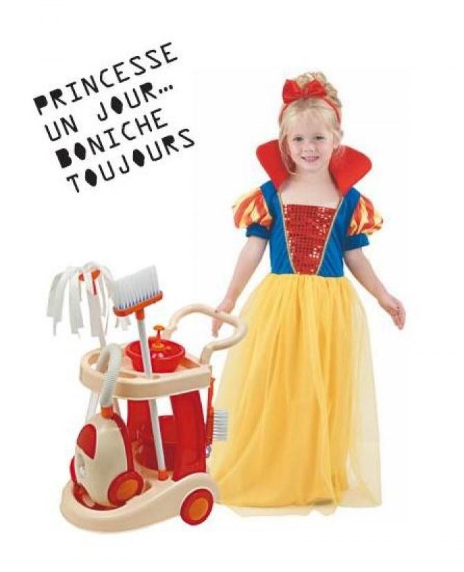 Princesse un jour, boniche toujours
