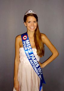 Allison Evrars Miss Nationale 2015