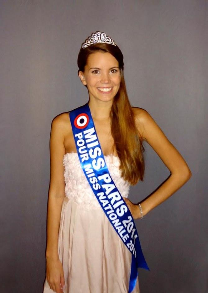 Allison Evrars Miss Nationale 2015
