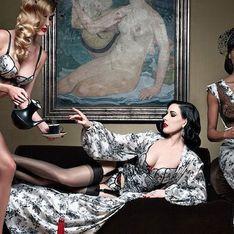Dita Von Teese et Christian Louboutin lancent une gamme de lingerie sexy et rétro