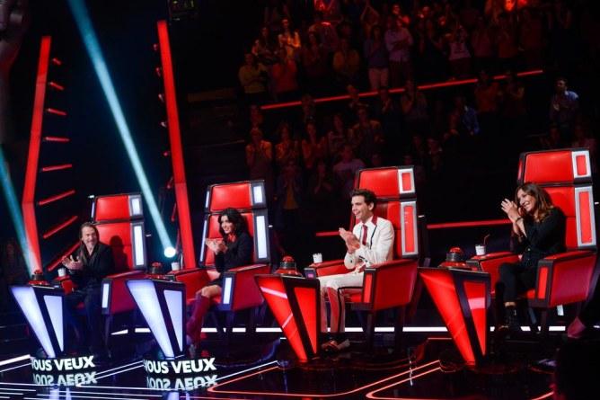 Les 4 coachs de The Voice 4