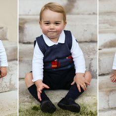 Il principino George posa per gli auguri di Natale! Le tenere foto del figlio di William e Kate