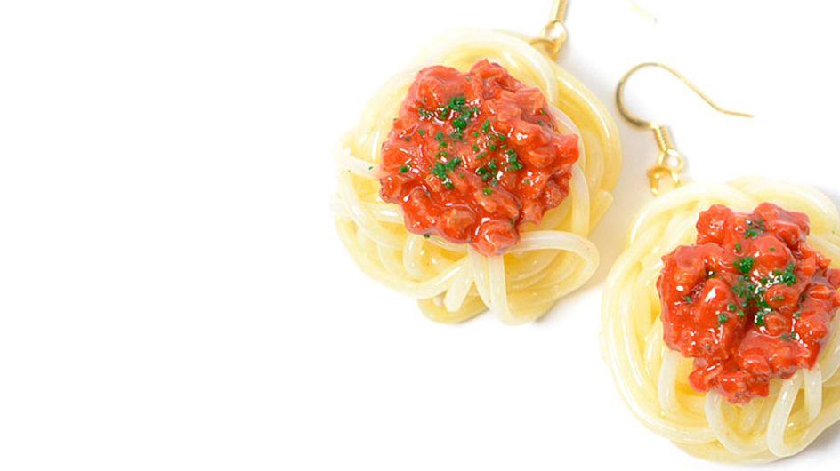 Joyas hechas con comida: originales accesorios para abrirte el apetito