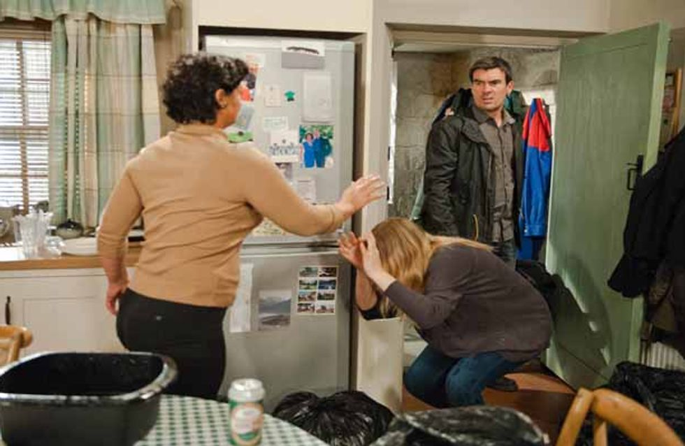 Emmerdale 23/12 – Cain is exhausted by Moira and Charity's behaviour