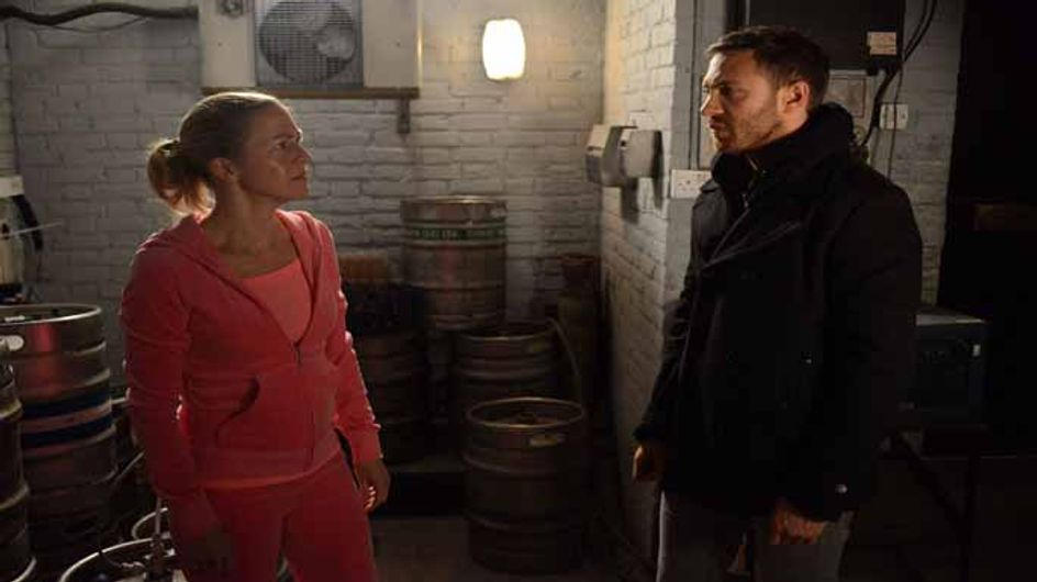 Eastenders 24/12 – Lee and Nancy are reeling from what Dean has said