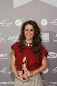 Alice David, Révélation cinéma des Femmes en Or 2014