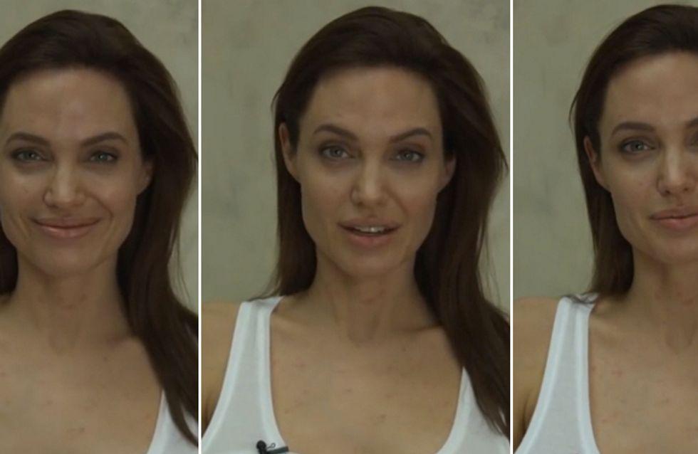 Angelina Jolie, bella anche con la varicella! L'attrice spiega in un video i motivi del suo stop forzato