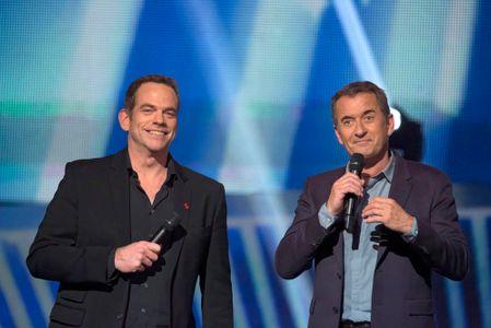 Garou et Christophe Dechavanne