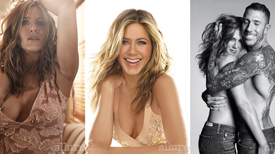 Jennifer Aniston, scatti sexy per la rivista Allure. Guarda le foto hot dell'attrice!
