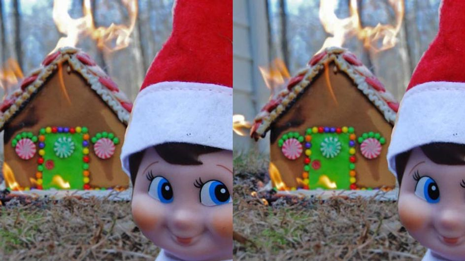 18 Parents Who Went A Little TOO Creative With The Elf On The Shelf