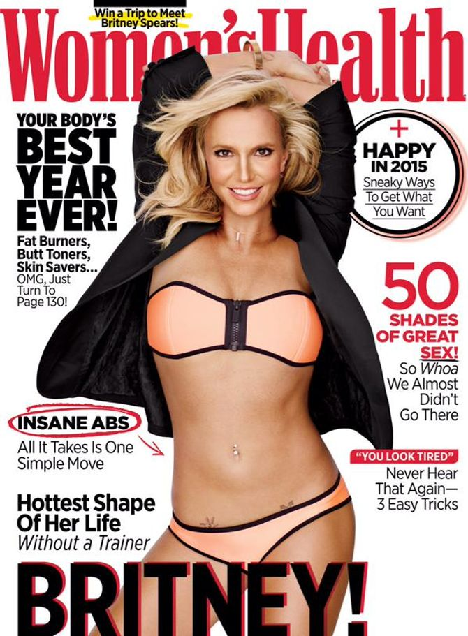 Britney Spears pour Women's Health