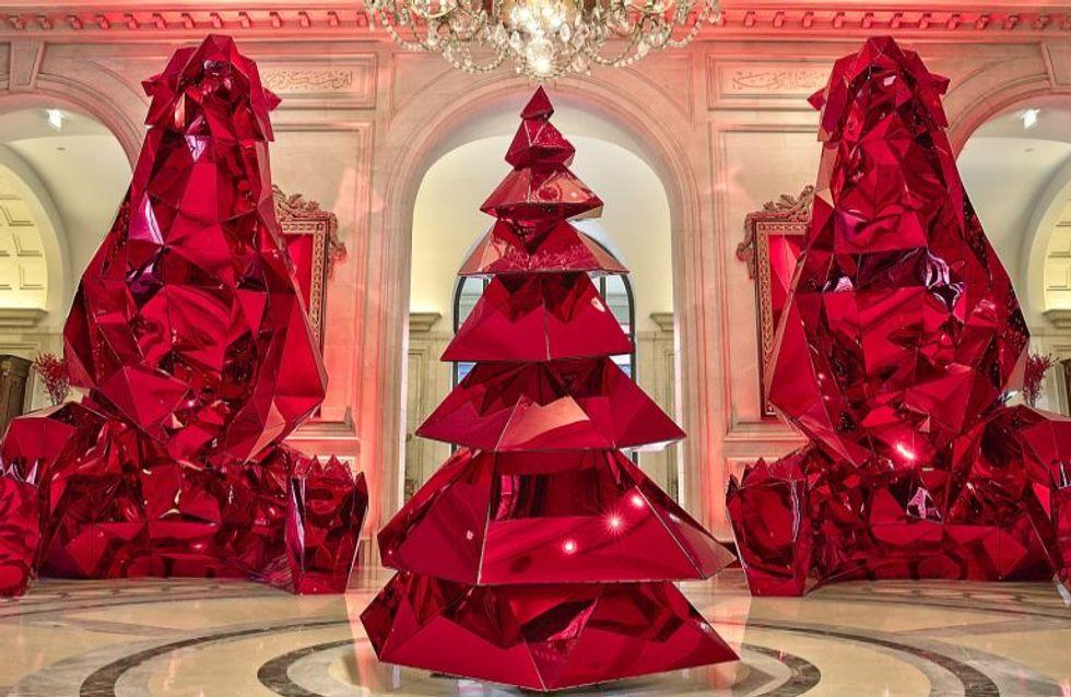 I love Christmas: le decorazioni più originali degli hotel nel mondo