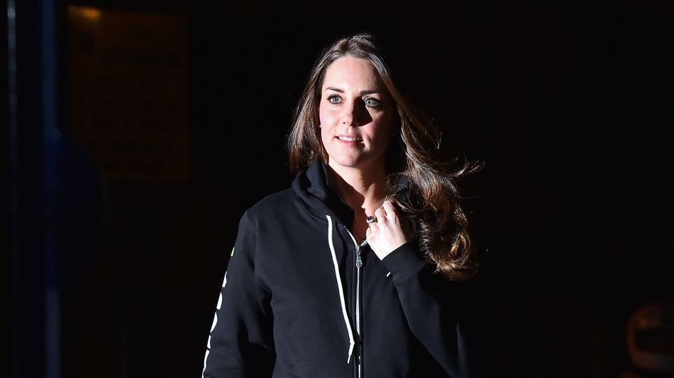 Kate Middleton, enceinte et en sweat !