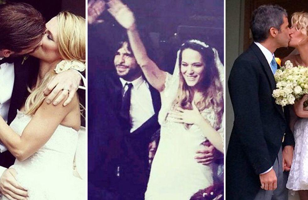 Dalla Canalis alla Marcuzzi, fino alla coppia George-Amal: le più belle nozze delle star del 2014
