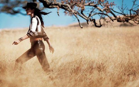 Kendall Jenner pour Vogue US