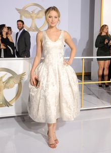 Jennifer Lawrence à la première de Hunger Games 3 - Partie 1.
