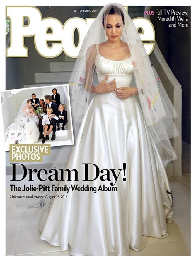 Brad Pitt et Angelina Jolie mariage