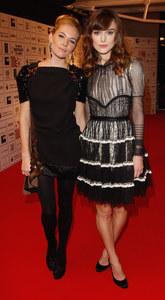 Sienna Miller et Keira Knightley, en 2008