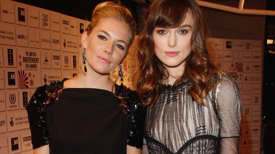 Sienna Miller confirme la grossesse de Keira Knightley