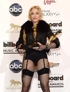 Madonna sur le red carpet.