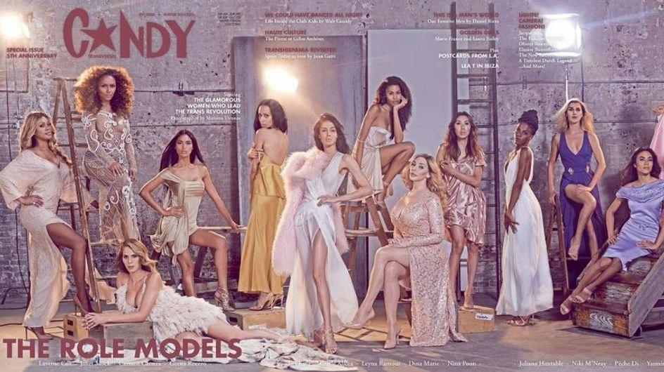 Le magazine C☆NDY met les femmes transgenres à l'honneur