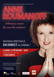 Le dernier spectacle d'Anne Roumanoff