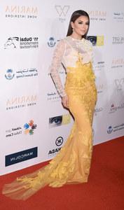 Eva Longoria, le 14 décembre 2014 à Dubaï