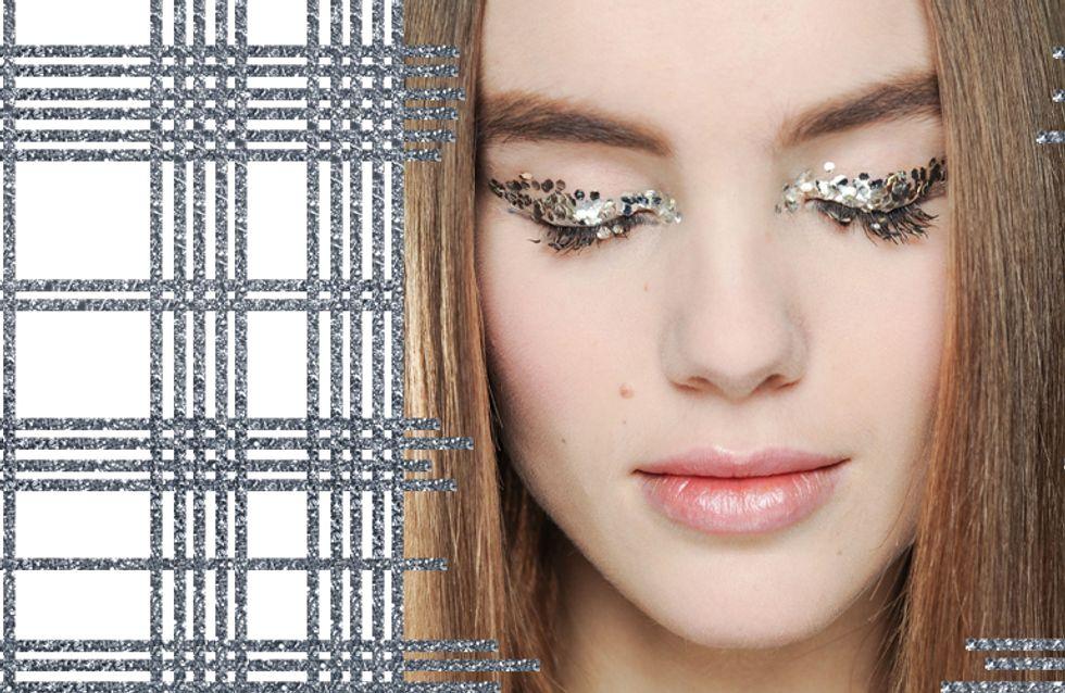 Funkeln für die Festtage: Make-up im Metallic-Look