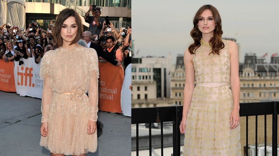 Keira Knightley en trois obsessions mode