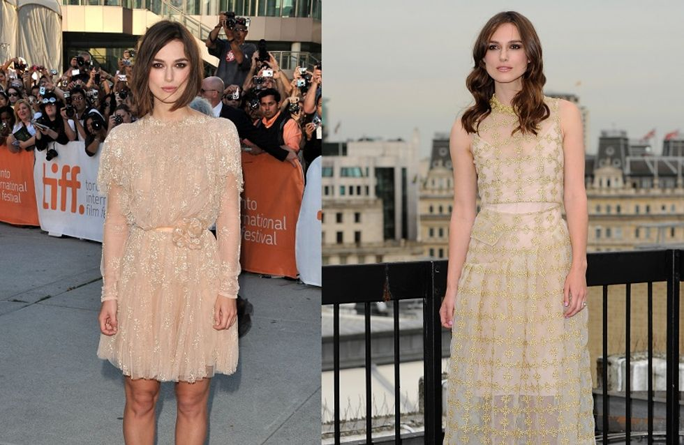 ​Keira Knightley en trois obsessions mode