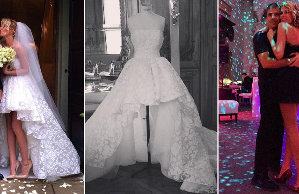 Alessia Marcuzzi pubblica le immagini del suo party nuziale. Ecco gli scatti più belli!