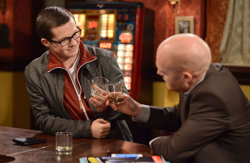 Eastenders 08/01 - Stacey is curious when she notices the tension between Mo and Kat