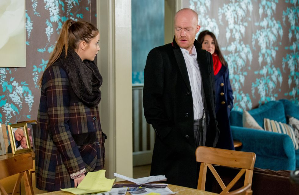 Eastenders 09/01 - Stacey is horrified to discover Kat in bed with a stranger