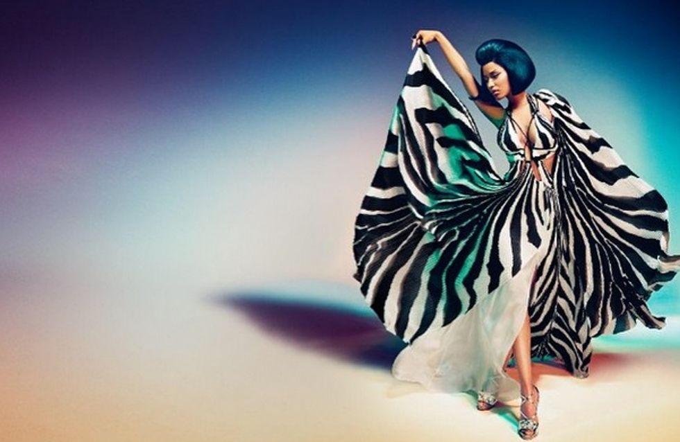 Nicki Minaj joue la carte du glamour pour Roberto Cavalli (Photos)