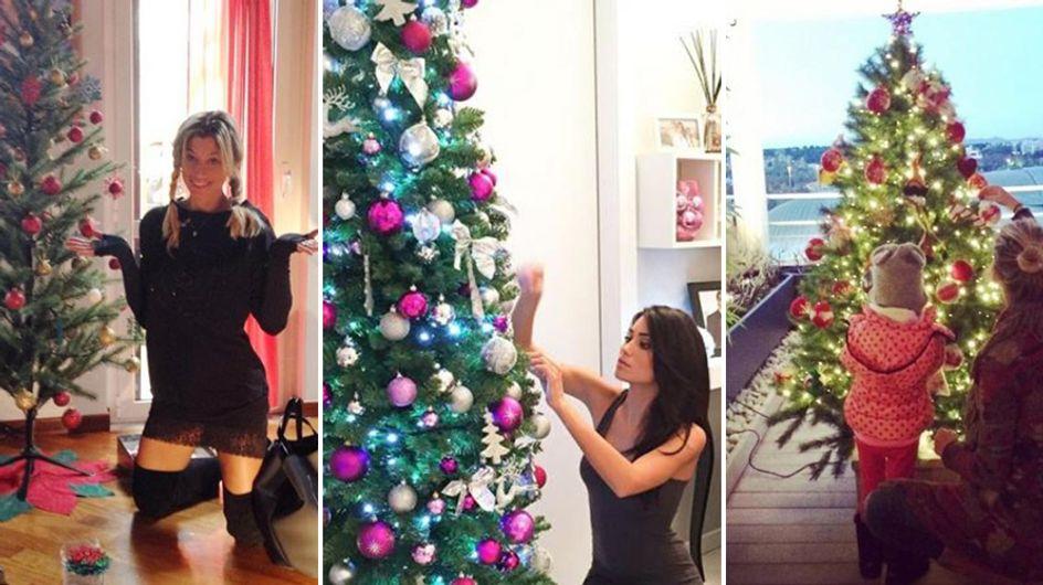 Le star e il Natale. Le celebrities alle prese con l'albero e le decorazioni!