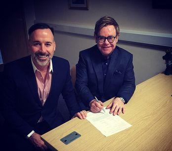 Découvrez les photos du mariage d'Elton John et David Furnish