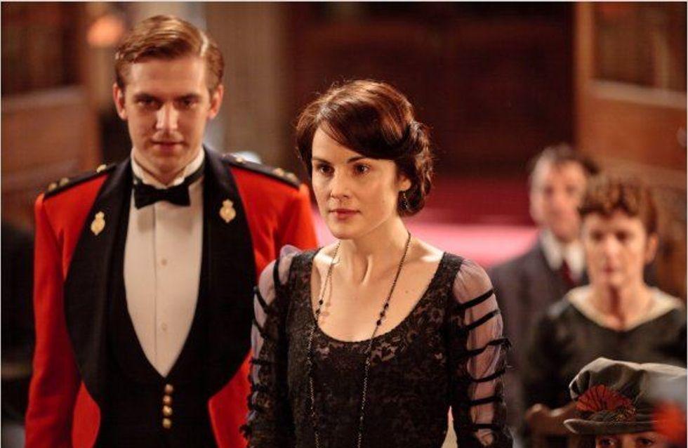 Un look façon Downton Abbey pour les Fêtes de fin d'année