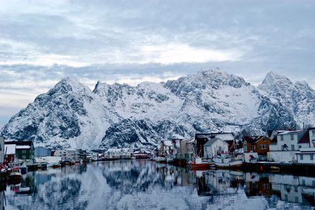 Lofoten City en Norvège