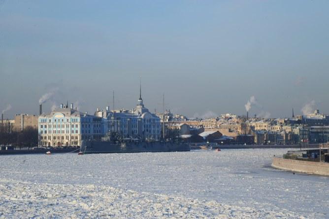 Saint Petersbourg en Russie
