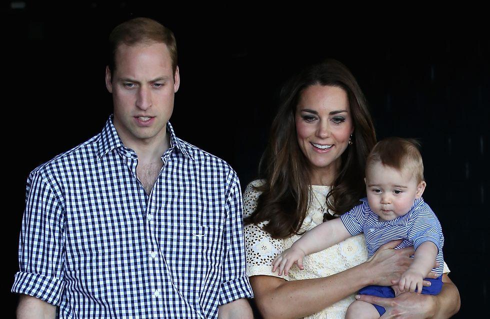 Une journée riche en émotions pour le prince George