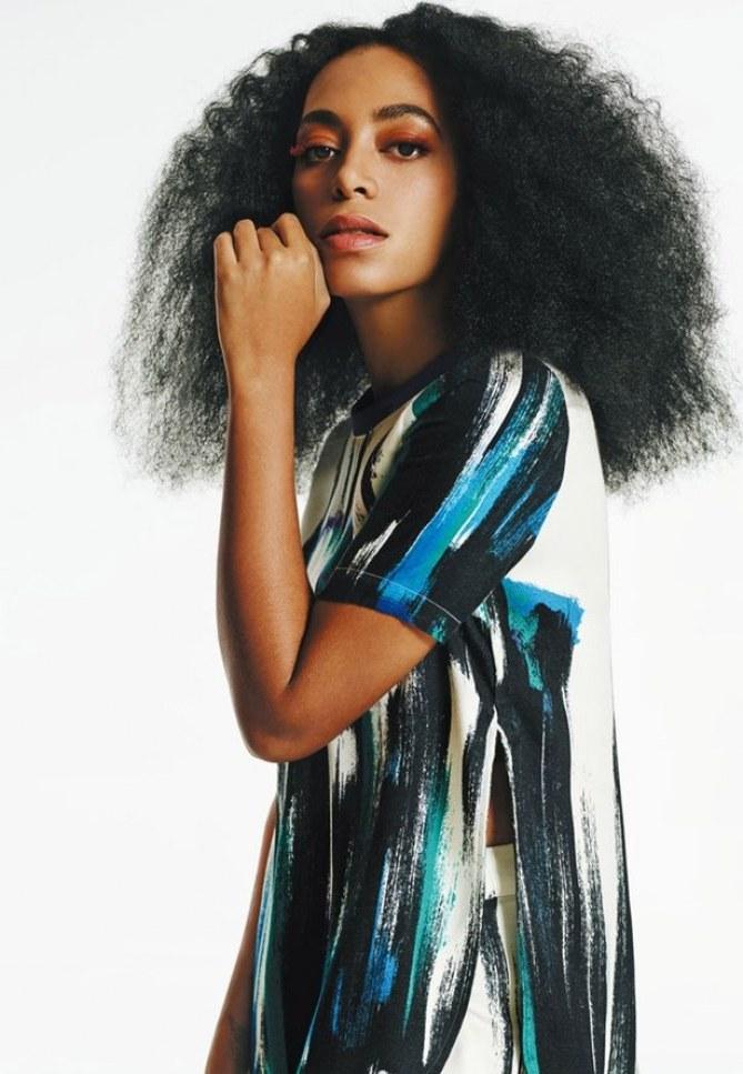 Solange Knowles, nouveau visage de la campagne Eleven Paris