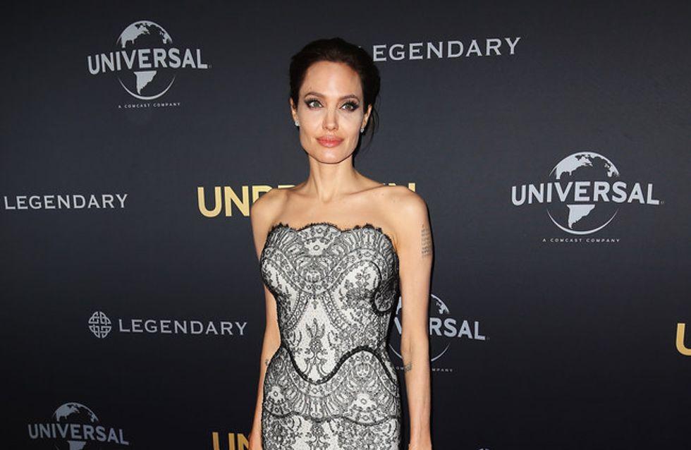 Angelina Jolie ne mangeait presque pas sur le tournage d'Invincible