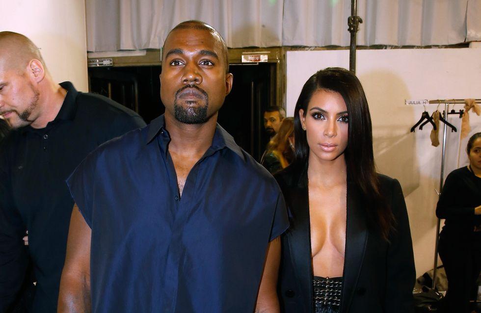 Kanye West, loin de Kim et North pour Noël ?