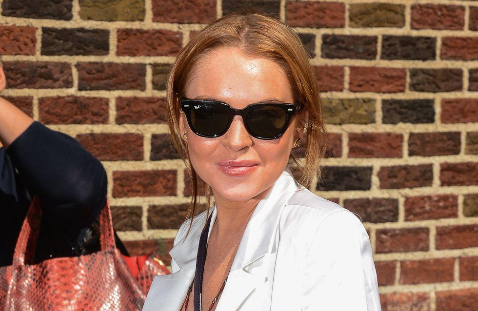 Lindsay Lohan dévoile sa routine beauté