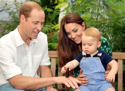 Kate Middleton, le prince William et le prince George