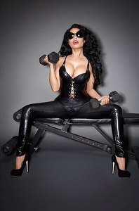 Nicki Minaj pour son calendrier 2015
